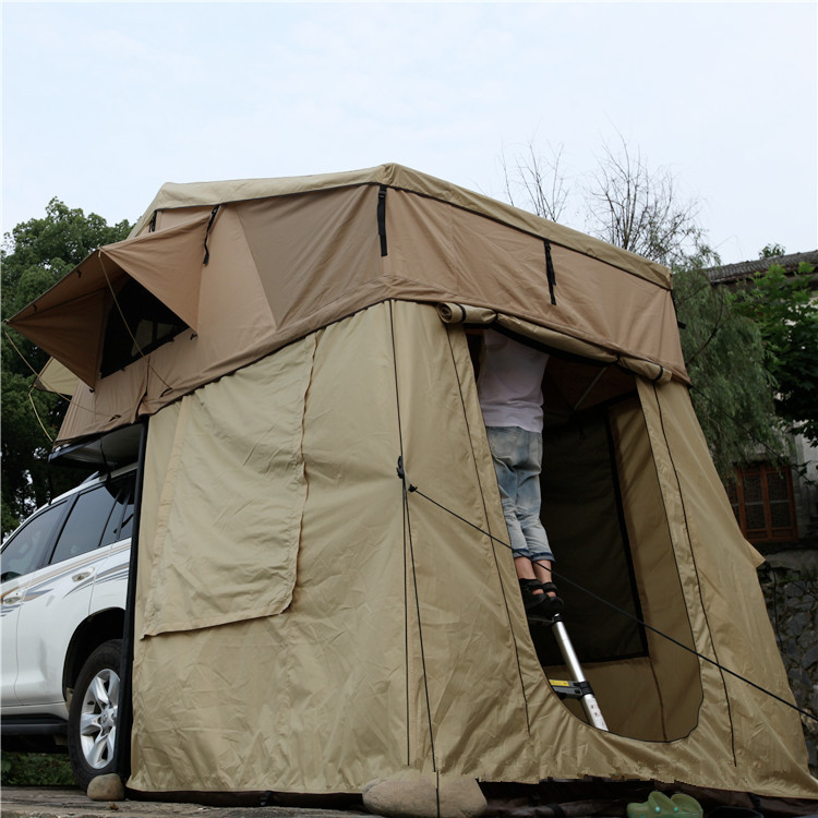 Car Roof Tent With Back Awning Standard Type Jndo For